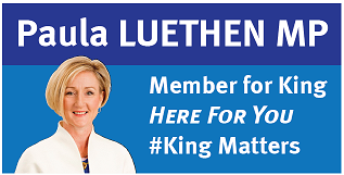 Gold sponsor - Paula Luethen, Member for King