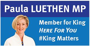 Silver Sponsor - Paula Luthen MP